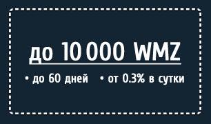 WM кредитка предлагает быстрый электронный кредит