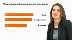 Анна Давыдова рассказывает о тенденциях развития онлайн-торговли в России