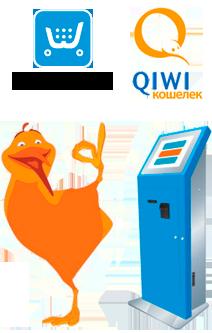 Оплата через QIWI Кошелек теперь доступна в интернет-магазинах на Ecwid